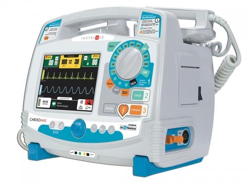 Cardioversor e Desfibrilador Instramed